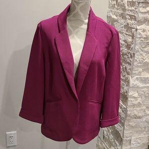 Rickis textured pink blazer